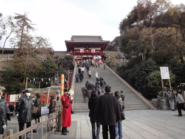 写真 元日の鶴岡八幡宮.jpg