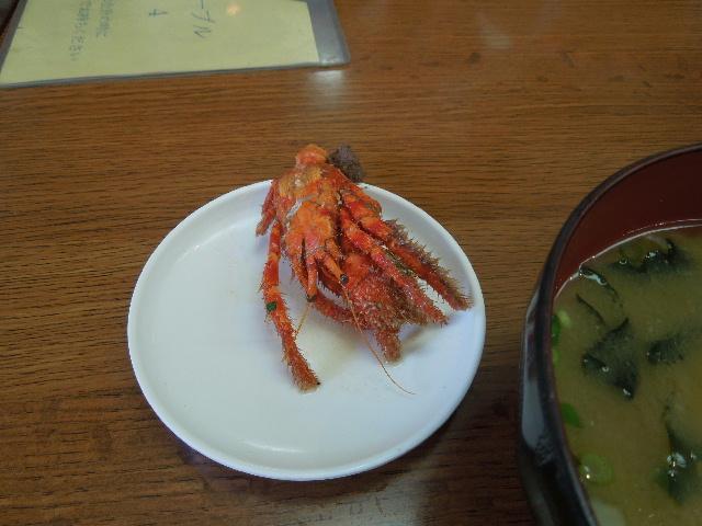 写真 城ヶ島のアマガニと味噌汁.jpg