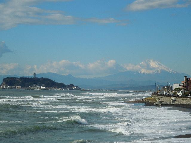 写真 稲村ケ崎からの富士山02.jpg