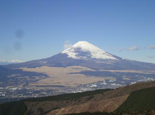 写真 箱根駒ケ岳から見た富士山.jpg