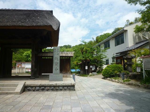 写真 龍宝寺 山門とふるさと館.jpg