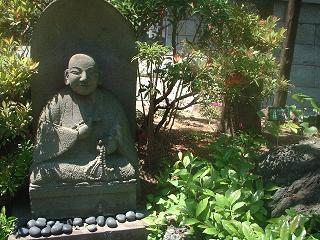 写真140627fri 青蓮寺弘法大師石像.jpg